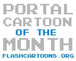 Flash Cartoons Portal - Cartoon of the Month!